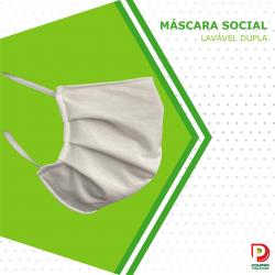 Máscara Social Lavável...